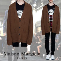 Maison Margiela Oversize Cardigan Brown