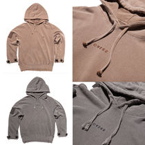 OVERR(オベルー) パーカー・フーディ TOME.1 VELCRO PIGMENT BROWN HOODIE★国内発