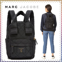 MARC JACOBS(マークジェイコブス) マザーズバッグ 【送料/関税込】MARC JACOBS★Knot Large ナイロン バックパック