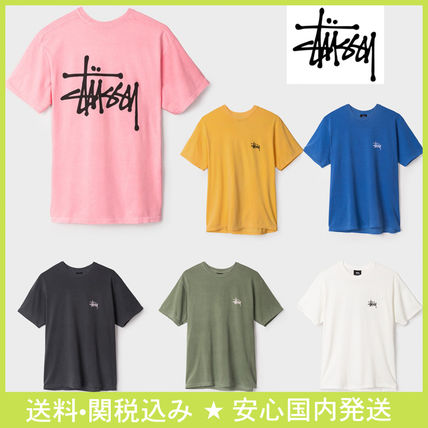 STUSSY PIGMENT DYED TEE