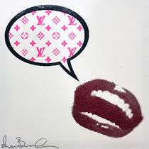 """SHANE BOWDEN(シェーンボーデン) アート・美術品 SB """"WHAT BITCHES BE SAYING TO PUT A RING ON IT (LV)"""" 50cm"""