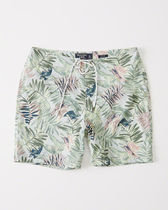 送料無料】Abercrombie&Fitch  ZIP-POCKET BOARDSHORTS
