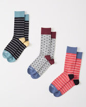 Abercrombie & Fitch(アバクロ) 靴下・ソックス 【送料無料】Abercrombie&Fitch(アバクロ)3-PACK CASUAL SOCKS