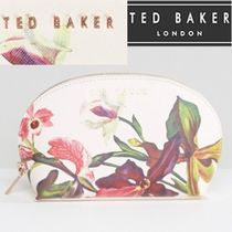 TED BAKER(テッドベイカー ) メイクポーチ 大人気★TED BAKER★フローラル メイクポーチ/ヌードピンク
