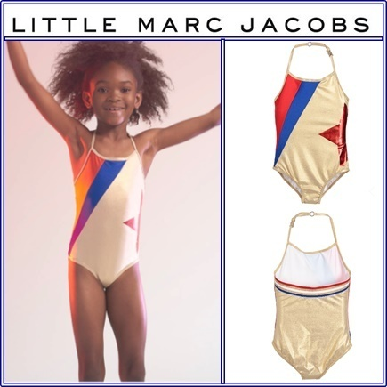 2017SS★ゴールドワンピース水着★Little Marc Jacobs★2~12歳