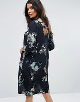 ASOS(エイソス) その他 デザイナーズ Y.A.S Floral Print Open Back Dress