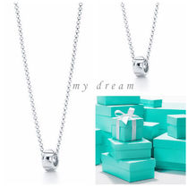 【Tiffany & Co】Paloma's Groove bead pendant in silver