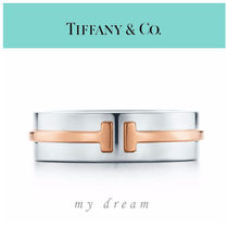【Tiffany & Co】TIFFANY T TWO RING  in Rose Gold