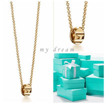 【Tiffany & Co】Paloma's Groove bead pendant in 18k gold