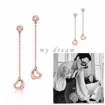 【Tiffany & Co】Diamonds by the Yard Open Heart Rose Gold