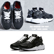 NIKE★HUARACHE RUN PRINT GS★V-DAY★ハート柄★22.5~25cm