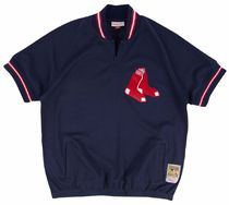Mitchell&Ness(ミッチェルアンドネス) トップスその他 Mitchell & Ness MLB BP Pullover Top Boston Red Sox