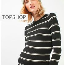 【TOP SHOP】MATERNITY Stripe Knitted Bodycon