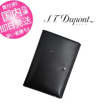 S.T.Dupont(デュポン) 雑貨・その他 ST.Dupont デュポン パスポートケース ★ ブラック
