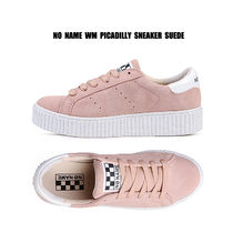 NO NAME★PICADILLY SNEAKER スエード★プラットフォーム ピンク