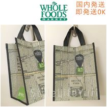 WHOLE FOODS MARKET(ホールフーズマーケット) エコバッグ 国内即発*Whole Foods*NYの2017年Open新店舗限定エコバック小