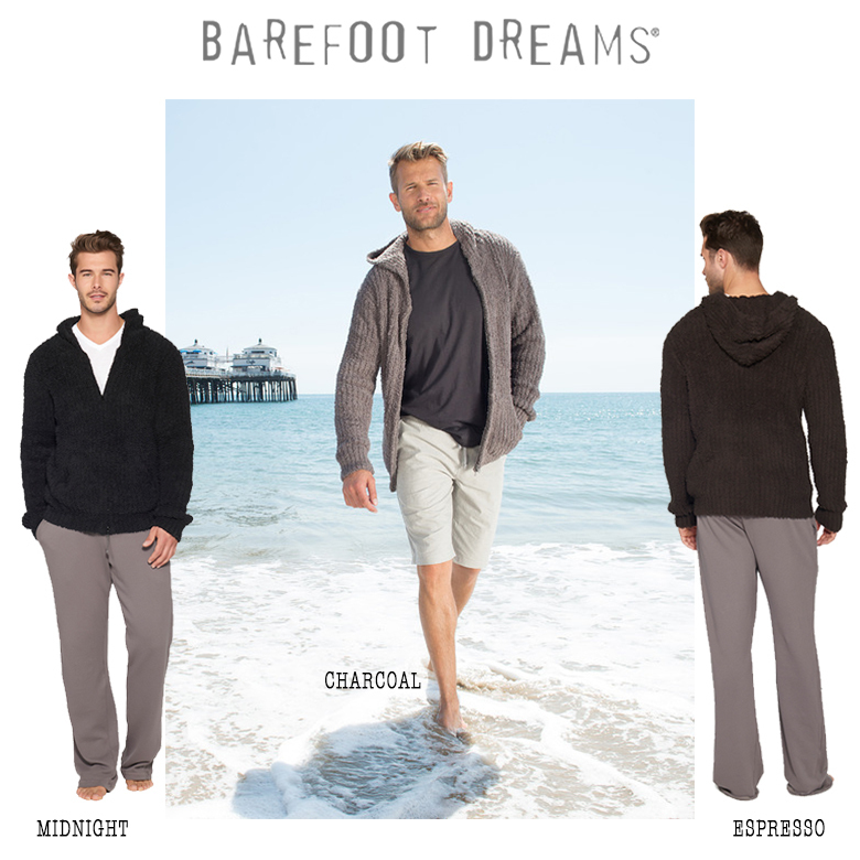 LA発 Barefoot dreams ☆ the COZYCHIC ADULT RIBBED HOODIE