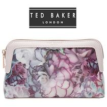 TED BAKER(テッドベイカー ) メイクポーチ 大人気♪イギリス発★ TED BAKER ★ パープル メイクポーチ