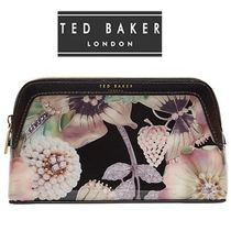 TED BAKER(テッドベイカー ) メイクポーチ 大人気♪★ TED BAKER ★ ブラック&マルカラー メイクポーチ