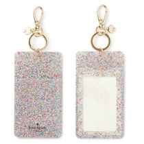 kate spade new york(ケイトスペード) パスケース ☆関税・送料込★ Women's Why Hello There Glitter Id Clip