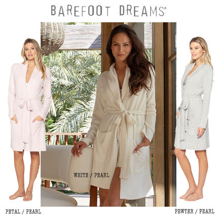 LA発 Barefoot dreams ☆ the COZYCHIC LITE SHORT RIBBED ROBE