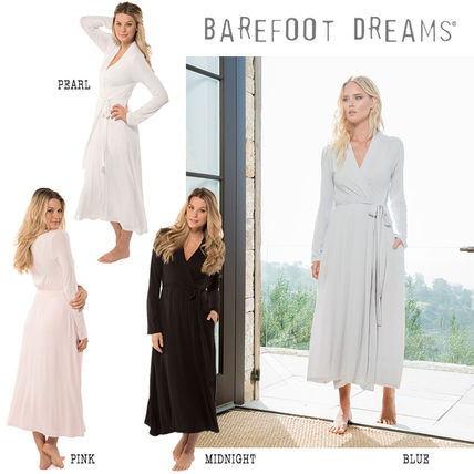 LA発 Barefoot dreams ☆ the LUXE MILK JERSEY LONG ROBE