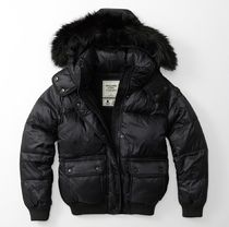 Abercrombie & Fitch(アバクロ) ダウンジャケット・コート ★即発送★在庫あり★A&F★PUFFER DOWN JACKET★