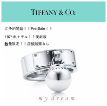 復刻版♪限定!【Tiffany & Co】 Hard Wear Ball Dangle Ring