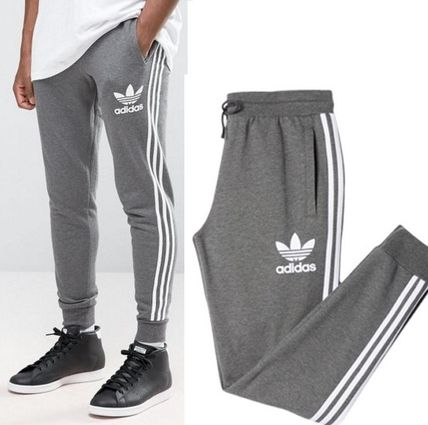 adidas パンツ ADIDAS MEN'S ORIGINALS☆CLFN FT TRACK PANTS グレー AY7782