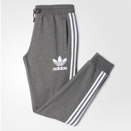 adidas パンツ ADIDAS MEN'S ORIGINALS☆CLFN FT TRACK PANTS グレー AY7782(2)