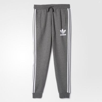 adidas パンツ ADIDAS MEN'S ORIGINALS☆CLFN FT TRACK PANTS グレー AY7782(3)
