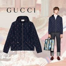 GUCCI(グッチ) ジャケットその他 GUCCI Bee and Star Printed Nylon Jacket