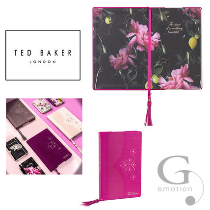A5 Tassel with a progressive and TED BAKER blog notes citrus