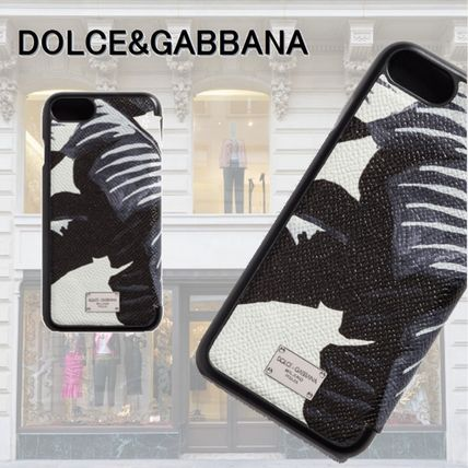 Dolce & Gabbana IPHONE 7 cover leather flap 2017 SS