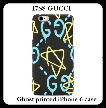 17SS☆話題の新作 GUCCI GUCCI Ghost iPhone 6/6s ケース