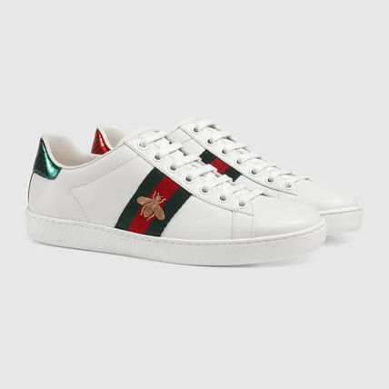2017SS GUCCI sneakers and gold bee embroidery