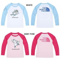 【日本未入荷】 THE NORTH FACE ★K'S SOOHORANG RAGLAN TEE/O