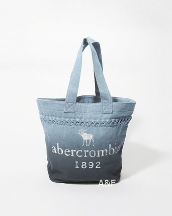 Abercrombie & Fitch キッズ・ベビー・マタニティその他 A&F   大人も使える denim tote bag♪