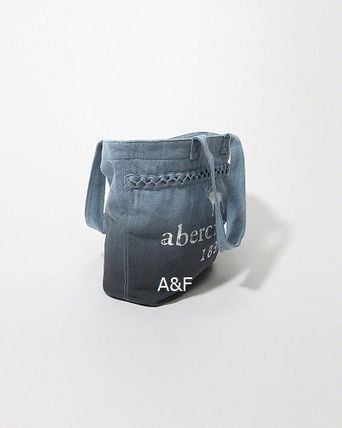 Abercrombie & Fitch キッズ・ベビー・マタニティその他 A&F   大人も使える denim tote bag♪(2)