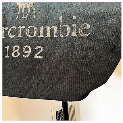 Abercrombie & Fitch キッズ・ベビー・マタニティその他 A&F   大人も使える denim tote bag♪(4)
