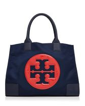 Tory Burch★バイカラーElla Color Block Nylon Tote関税追跡