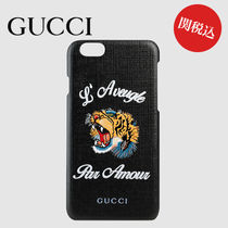 【関税込】GUCCI L'Aveugle Par Amour iPhone6ケース