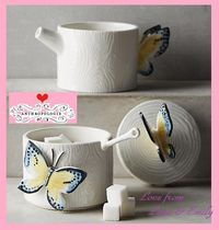 Anthropologie(アンソロポロジー) 容器・ストッカー 17SS☆最安値*関送込【Anthro】Butterfly Forest Stacking SET