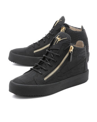 GIUSEPPE ZANOTTI sneakers middle cut black KRISS