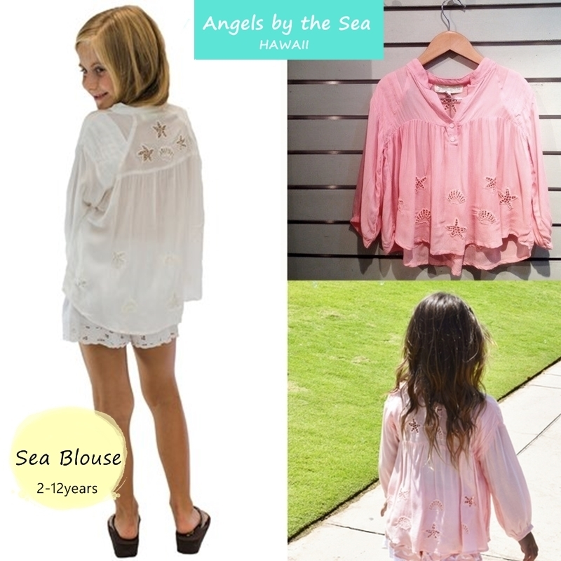 Kids Sea Blouse ☆GIRLS 2-12才 トップス K-700