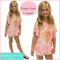 Ocean Tunic in Abstract ☆GIRLS 2-12才 チュニック K-A121