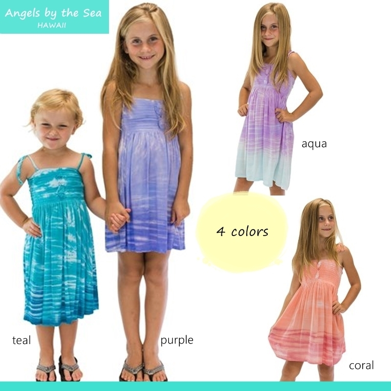 4色 Lani Dress In Cloud ☆GIRLS 2-12才 ワンピース K-C120