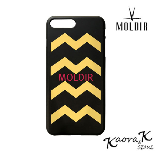 ★MOLDIR★日本未入荷 MOLDIR M ZIGZAG LOGO IPHONE CASE