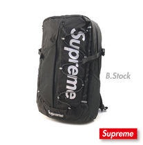 17S/S Supreme Backpack 210D Cordura Ripstop バックパック黒