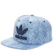ADIDAS ORIGINALS TREFOIL CAP ( Blue Acid Wash Denim )